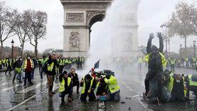 عاجل.. اشتباكات بين الشرطة الفرنسية ومحتجين وسط باريس