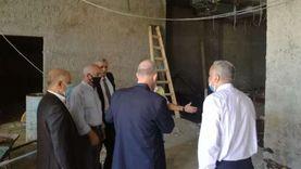 رئيس مصلحة الجمارك يتفقد منافذ الإسكندرية