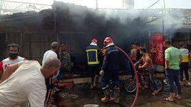 القاهرة: ماس كهربائي وراء حريق سوق أحمد حلمي