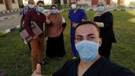 تعافي 13 حالة جديدة من كورونا في عزل مدينة بني سويف الجامعية