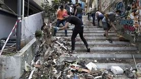 مشاهد مؤثرة من انفجار بيروت