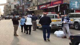 إغلاق 35 محلا تجاريا ومقهى وتغريم 67 شخصا بـ1000جنيه بسبب الكمامة