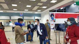 مطار شرم الشيخ يستقبل أولى رحلات الطيران السياحية من دبي