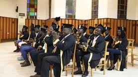 الكنيسة الأسقفية تحتفل بتخريج 26 طالبا سودانيا من الجامعات المصرية