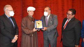 أسرة «من أجل مصر المركزية» بجامعة حلوان تحتفل بذكرى المولد النبوي