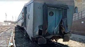 النيابة تستمع لأقوالي مصابي حادث قطار الإسكندرية