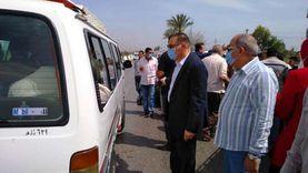تغريم 53 سائقا وتحرير 26 محضرا لعدم ارتداء الكمامة بالشرقية