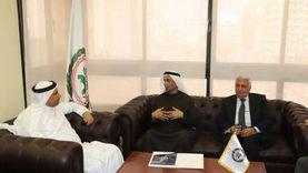 رئيس البرلمان العربي يستقبل «الجروان» لبحث سبل تعزيز التعاون