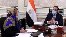 رئيس الوزراء يلتقي وزيرة التضامن الاجتماعي لاستعراض ملفات عمل الوزارة