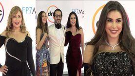 إطلالات نجوم الفن على الريد كاربت في افتتاح مهرجان القاهرة السينمائي