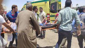 إصابة 9 أشخاص فى إنقلاب «ميكروباص» ببورسعيد