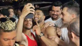 محمد رمضان ينشر فيديو وسط جمهوره: «اللي هيزعلهم هزعله»