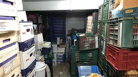 ضبط 10 أطنان مواد غذائية فاسدة قبل بيعها في الشرقية