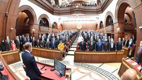 حصاد مجلس الشيوخ خلال أسبوع: اجتماعان لإعداد اللائحة واستقبال النواب