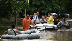 شبه جزيرة القرم تتعرض لأمطار وفيضانات وإعلان حالة الطوارئ «فيديو»