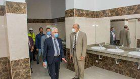 رئيس جامعة طنطا: الانتهاء من مشروع مبنى المدرجات بكلیة التربیة 2021