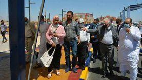 محافظ جنوب سيناء يتابع استعدادات افتتاح مقصد العائلة بالطور