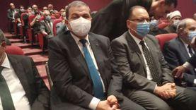 """تشييع جثمان محمد فريد خميس بحضور وزيري """"القوى العاملة والتموين"""""""
