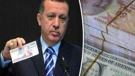 انهيار تاريخي لليرة التركية أمام الدولار الأمريكي