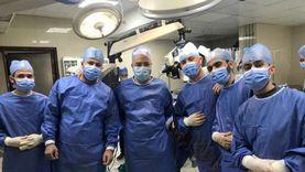 استئصال ورم من عظام جمجمة لمريض بـ«بني سويف الجامعي»