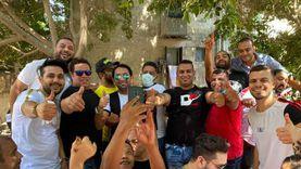 """بالصور.. محمود الليثي يقود نجوم الغناء الشعبي في انتخابات """"الشيوخ"""""""