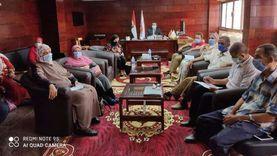 تعليم جنوب سيناء يناقش خطة الاستعداد للعام الدراسي الجديد