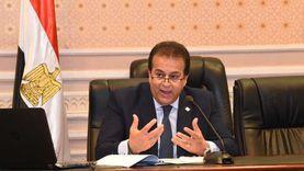 وزير التعليم العالي: الوضع الوبائي في مصر غير مقلق