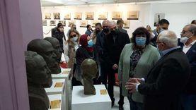 وزيرة الثقافة تتفقد متحف النصر للفنون التشكيلية ببورسعيد
