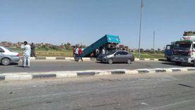 مصرع شخصين وإصابة 3 في حادثي سير بسوهاج