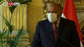 عاجل.. شكري: مصر تألمت مما عانى منه الشعب السوري