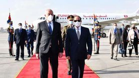 كلمة الرئيس بالمؤتمر المشترك مع نظيره التونسي: حق مصر المائي «قضية مصيرية»