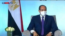 بث مباشر.. لقاء الرئيس السيسي بمشايخ القبائل الليبية