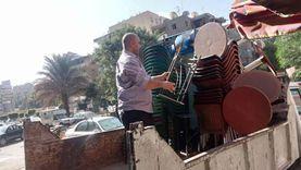 غلق مراكز صحية شهيرة وسناتر تعليمية مخالفة بأحياء الجيزة