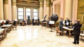 الانتهاء من تجهيزات مجلس الشيوخ الأسبوع الجاري
