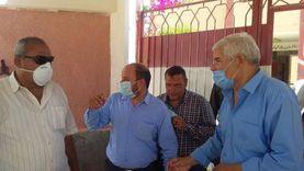 مساعد محافظ جنوب سيناء يتابع تجهيزات اللجان الانتخابية برأس سدر