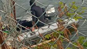البحث عن جثة ميكانيكي سقط في مياه البحر الأعظم فجرا «صور»