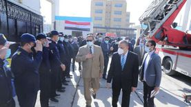 محافظ سوهاج ومدير الأمن يشهدان فعاليات الاحتفال بـ«يوم الحماية المدنية»