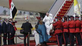 بابا الفاتيكان في بغداد.. 20 صورة ترصد ملخص زيارة البابا فرنسيس للعراق