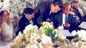 تامر حسين يشهد على عقد قران الموزع الموسيقي نادر حمدي (صور)
