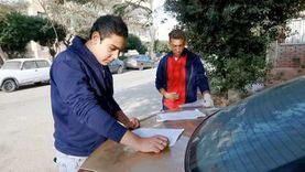 طلاب «الخامس الابتدائي» و«أولى ثانوي» يراجعون الامتحان قبل دخول اللجان