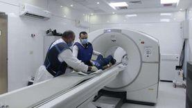 """استحداث تقنية """"PET CT"""" داخل وحدة الطب النووي بمستشفى النصر"""