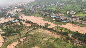 فيضانات وانهيارات أرضية بولاية ماهاراشترا الهندية تخلف 125 قتيلا