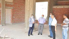 بملياري جنيه.. رئيس جامعة كفر الشيخ يتفقد إنشاءات مستشفى االطوارئ