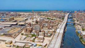النيابة تعاين موقع حريق خط تفريغ الأسفلت في ميناء الإسكندرية