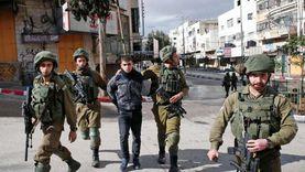 الاحتلال الإسرائيلي يعتقل 5 فلسطينيين من جنين ونابلس وأريحا