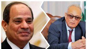 «أبو شقة» يهنئ الرئيس السيسي بعيد الفطر المبارك