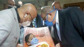 والد الطفلة شروق بعد استجابة الرئيس: اشكر السيسي الإنسان