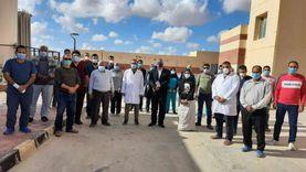 «صحة مطروح»: 90% من العاملين بعزل النجيلة وافقوا على تلقي لقاح كورونا