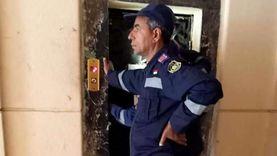 «الحماية المدنية» تنقذ أما وطفليها احتجزوا داخل «أسانسير» في الغربية