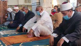 رئيس مدينة رأس سدر يؤدي صلاة عيد الفطر بالمجمع الإسلامي